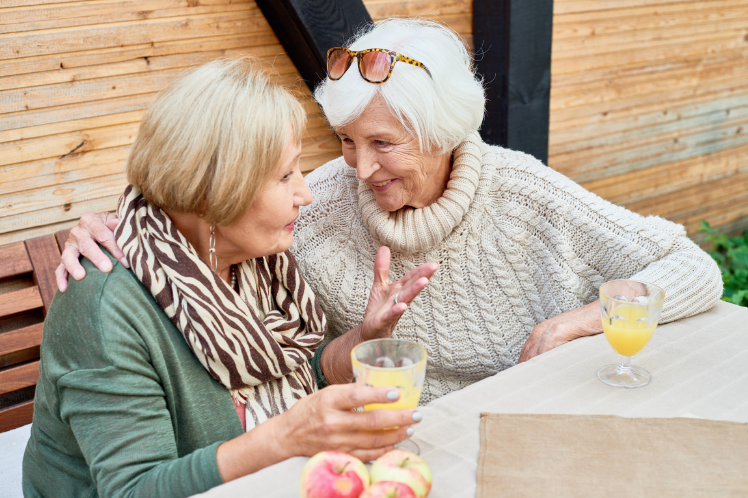 Helping Seniors Stay in Touch with the Outside World